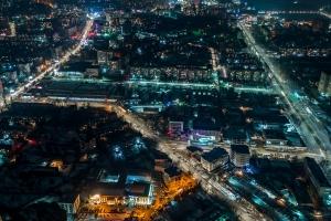 Орто-Сайский рынок и окрестности