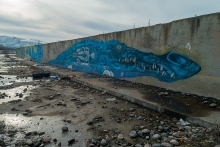 Граффити в канале