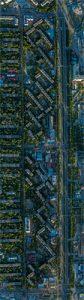 Карта микрорайона Асанбай в Бишкеке, 26 мая 2018 года © Михаил Дудин // drone.kg
